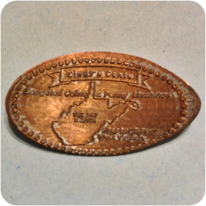 Cindy's Cents, Elongated Coins & Penny Machines, Shepherdstown, WV West Virginia