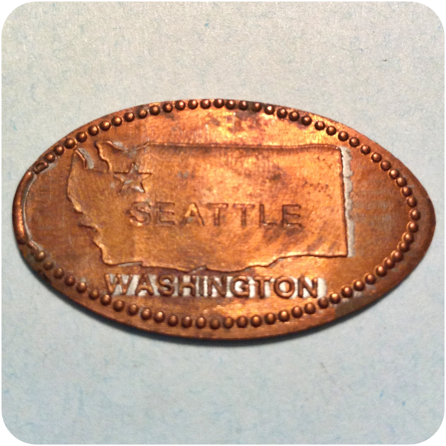 Retired The Armory (formerly Center House), Seattle Center, WA - Washington Coin