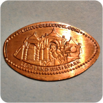 Waterpark, Bionicle, Fun Town, Legoland California, Carlsbad, CA California Coin