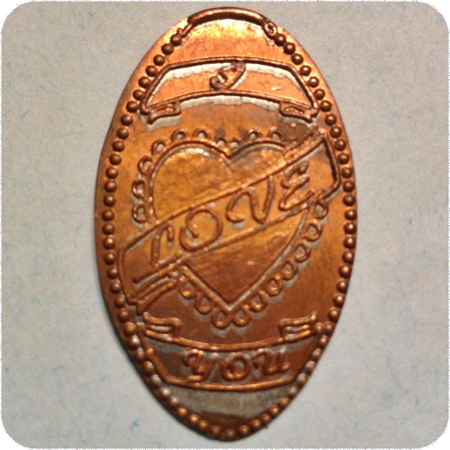 I Love You With Heart And Ribbons, Discovery Center of Idaho, Boise, ID Idaho EC