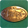 Retired The Alamo Dated 2003 With Six Stars, San Antonio TX Texas Elongated Coin