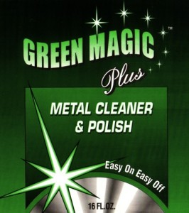 Green Magic Plus Metal Cleaner & Polish