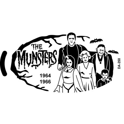 The Munsters ADA-253 Artwork