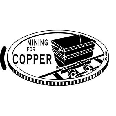 Mining for Copper ADA-255 Artwork