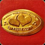 I Love You, Ribbon, Hearts, Holiday World & Splashin' Safari Santa Claus Indiana