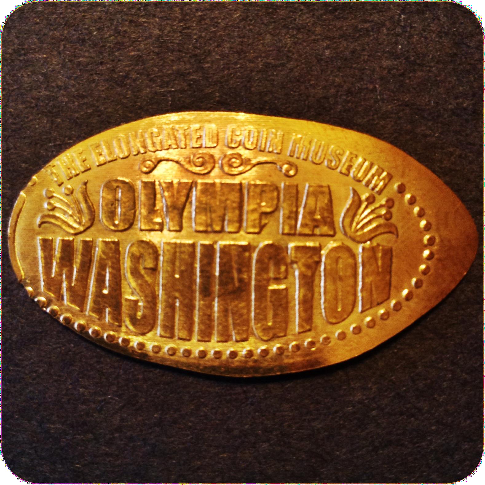 The Virtual Elongated Coin Museum Olympia Washington United States - Design Four