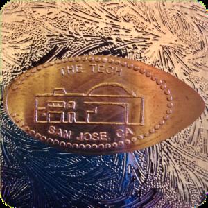 The Tech Museum of Innovation Building San Jose California Mule/Backstamp Copper