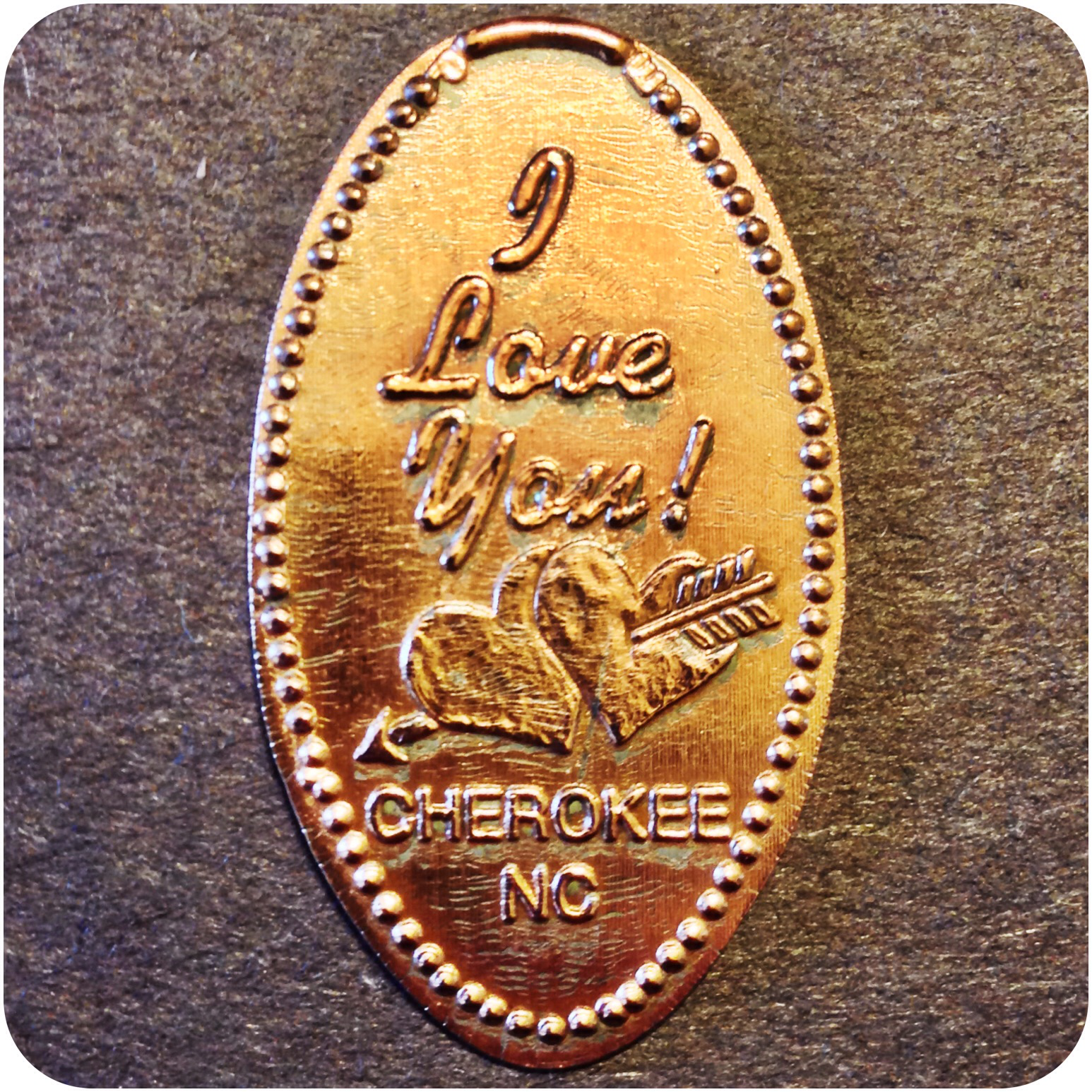 Retired I Love You - Chief Henry's Gifts & More - Cherokee, North Carolina Penny