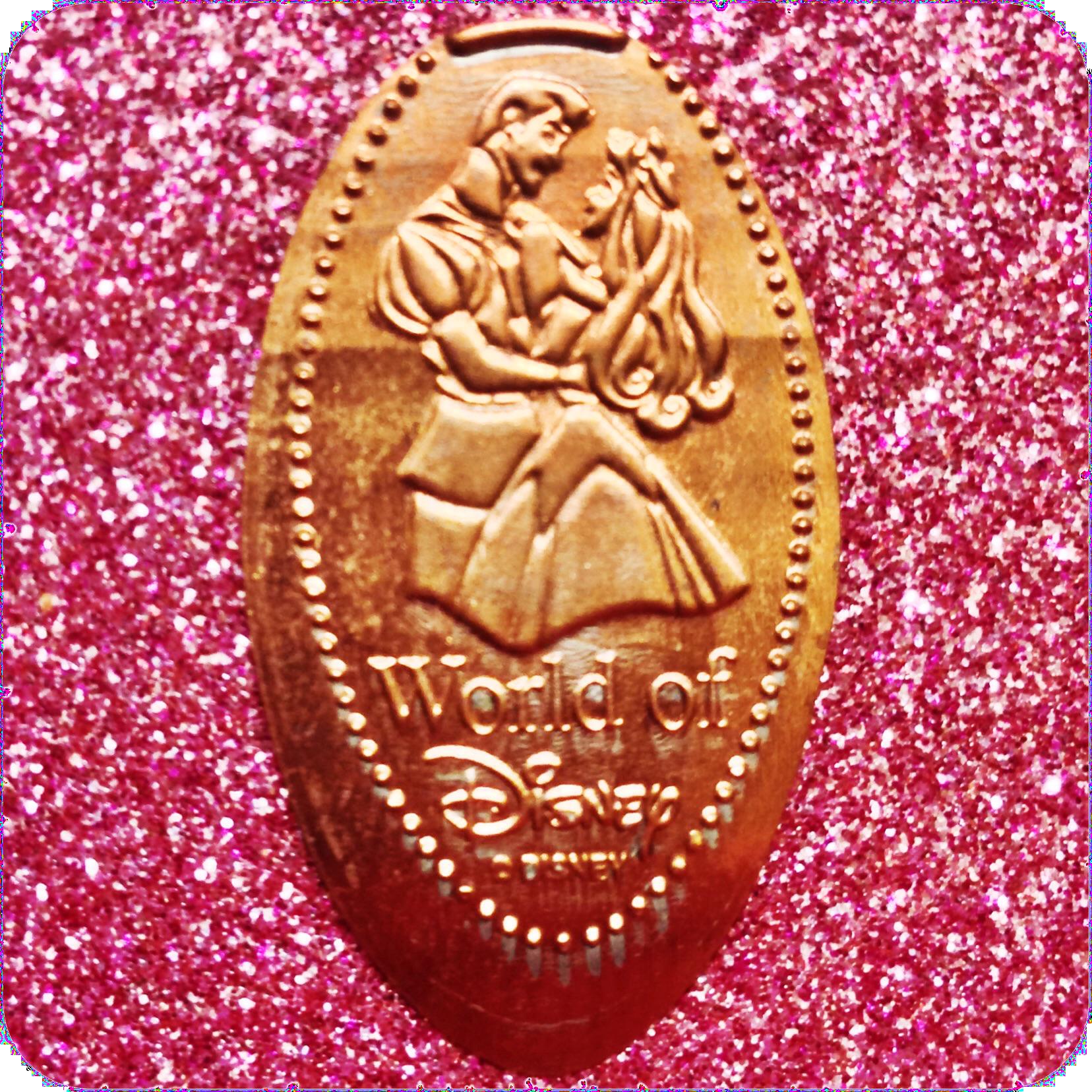 Sleeping Beauty/Princess Aurora in Prince Phillip's Arms World of Disney DTD0063
