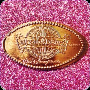 World of Disney Logo, DTD0029, Downtown Disney, Walt Disney World, Florida Penny