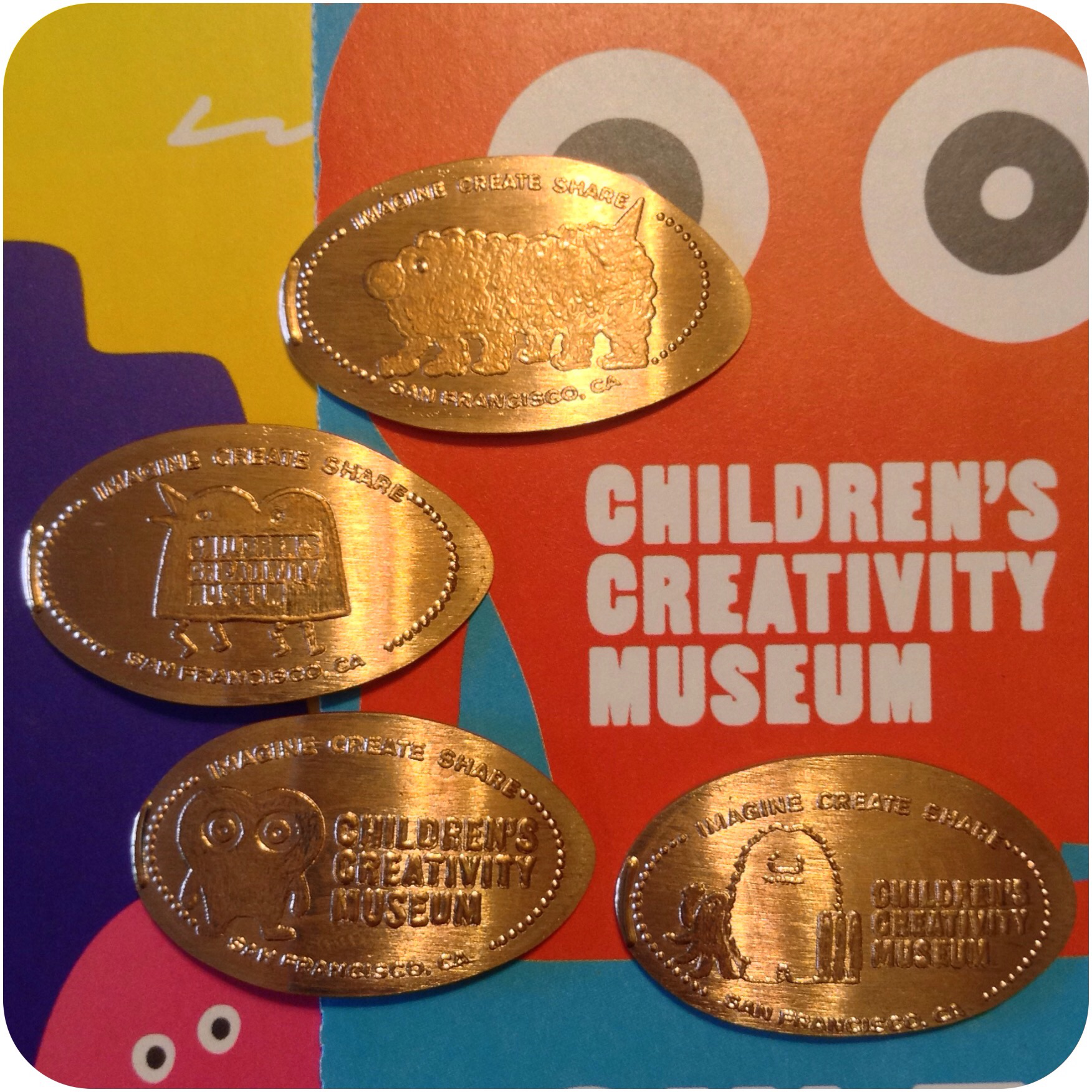 Children's Creativity Museum, Yerba Buena Gardens, San Francisco, California Set