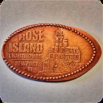 Rose Island Lighthouse - House of Scrimshaw, Newport, Rhode Island Pressed Penny