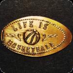 Life is Basketball - Food Court at Lexington Center, KY Kentucky Elongated Penny