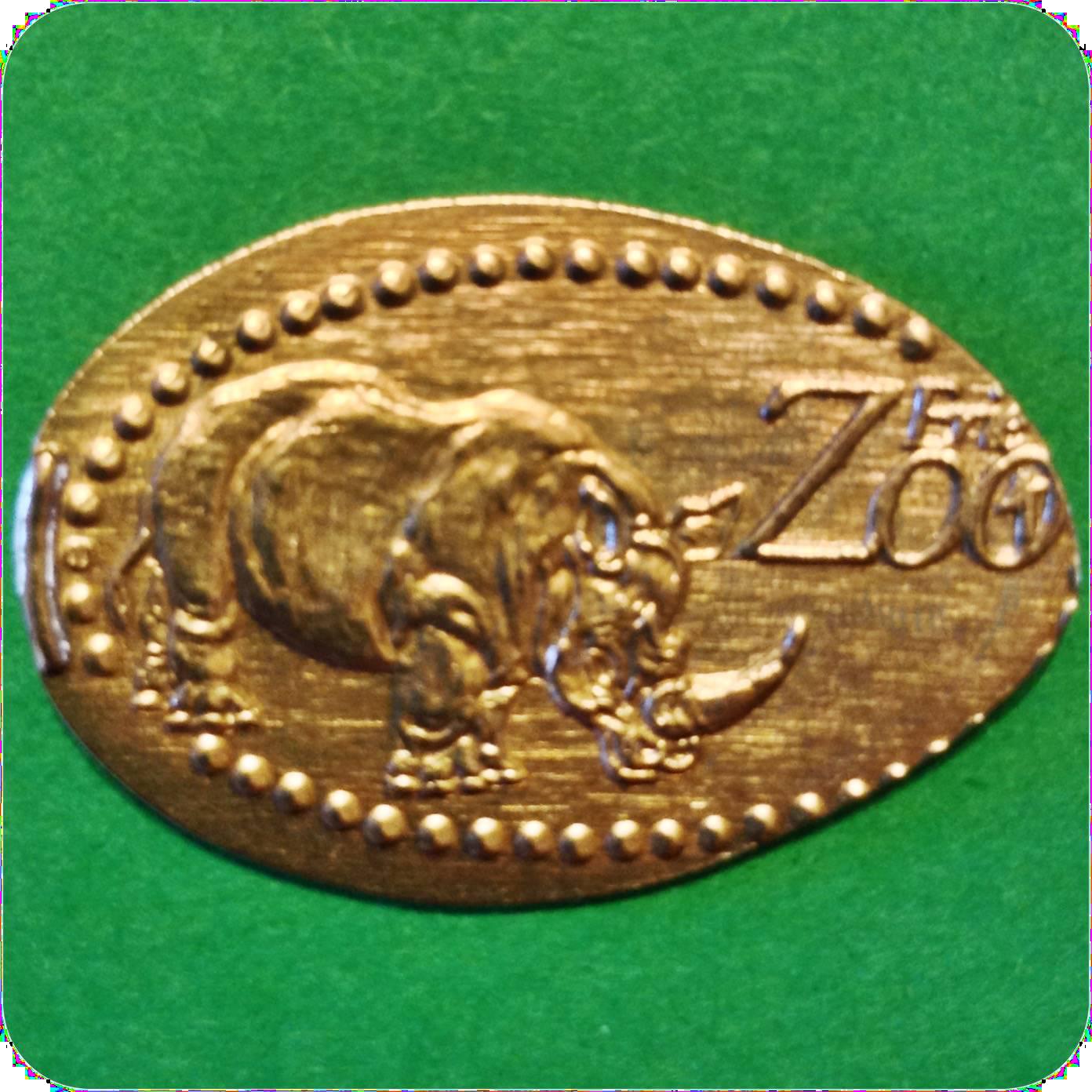 Southern White Rhinoceros/Rhino, Kiboka Outpost, Erie Zoo, Erie, PA Pennsylvania